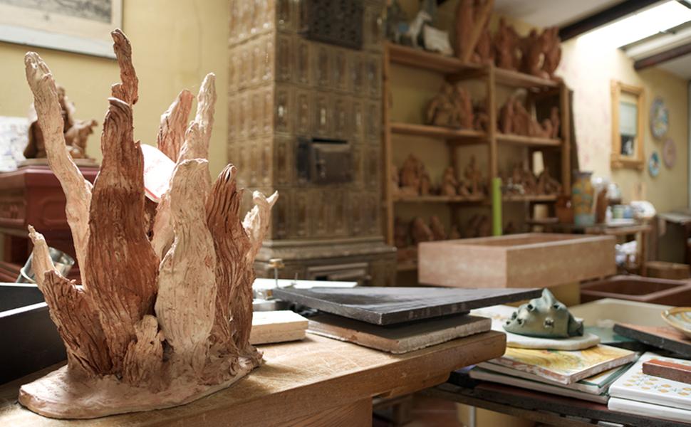 Corso di decorazione ceramica speciale natale 2016 for Decorazione ceramica
